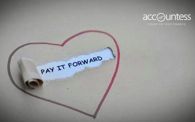 Pay It Forward: răspândim fapte bune între companii